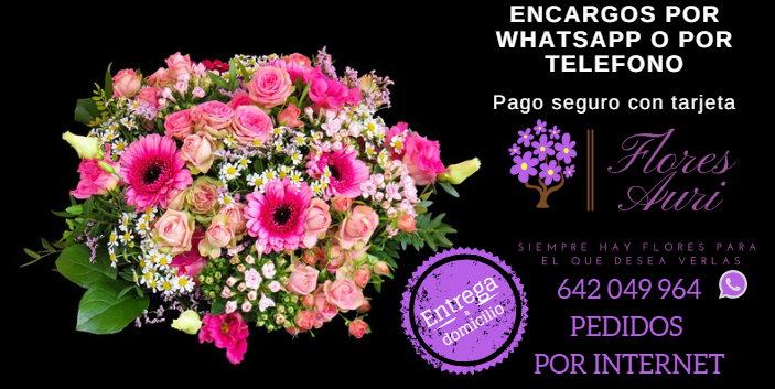Flores a domicilio, flores en vigo, floristeria online vigo